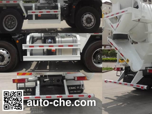 CIMC ZJV5250GJBSZ concrete mixer truck