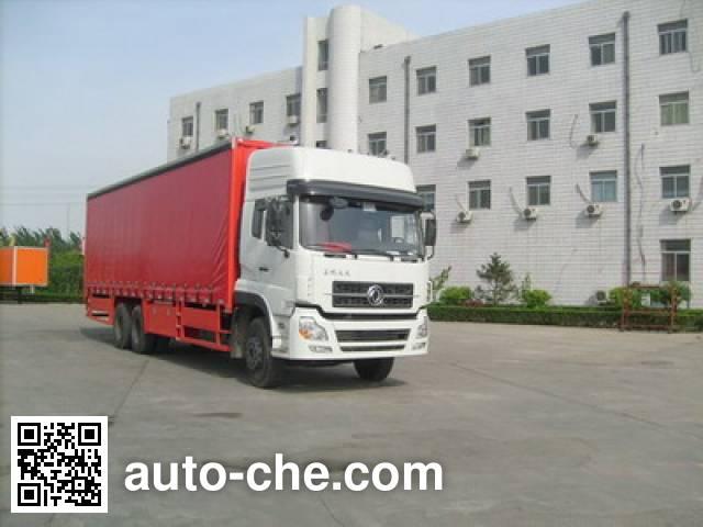 CIMC ZJV5250XXYAA side curtain van truck