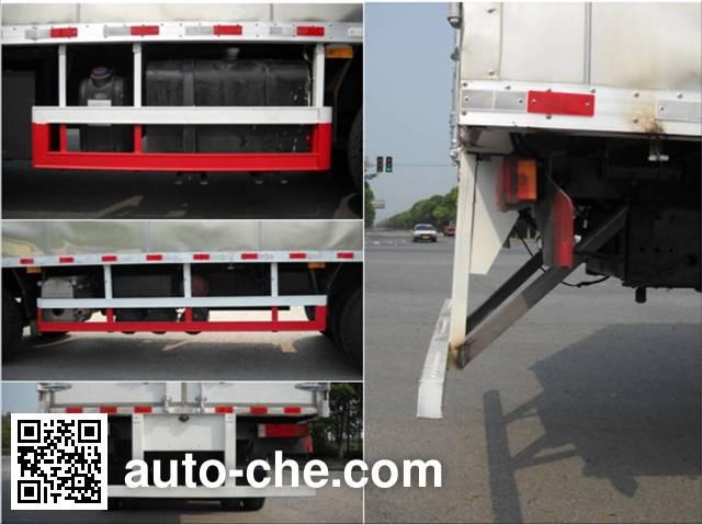 CIMC ZJV5310XYKSH01 aluminium wing van truck