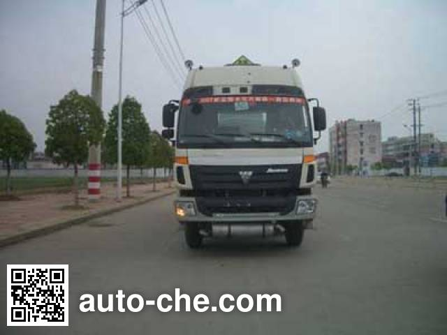 CIMC ZJV5313GHY01TH chemical liquid tank truck