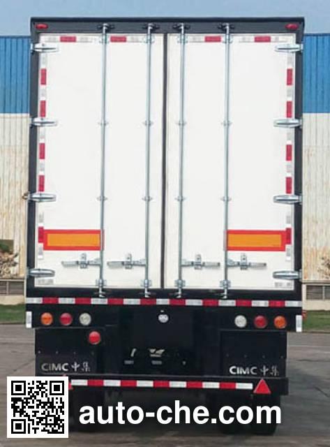 CIMC ZJV9270XXYSZ box body van trailer