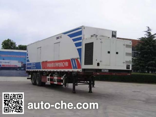 CIMC ZJV9320TSJSD asphalt cement mortar trailer
