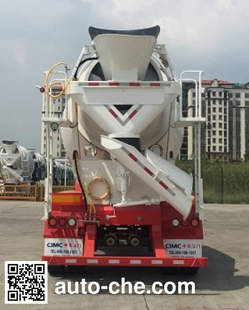CIMC ZJV9350GJBJM concrete mixer trailer