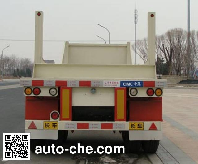 CIMC ZJV9350TJGYK oil well pipe transport trailer