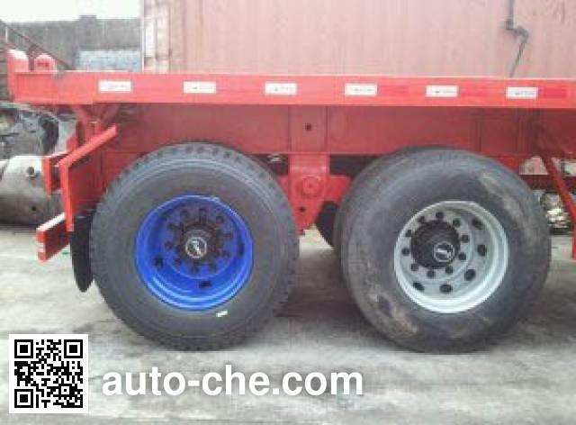 CIMC ZJV9350ZZXPSZ flatbed dump trailer