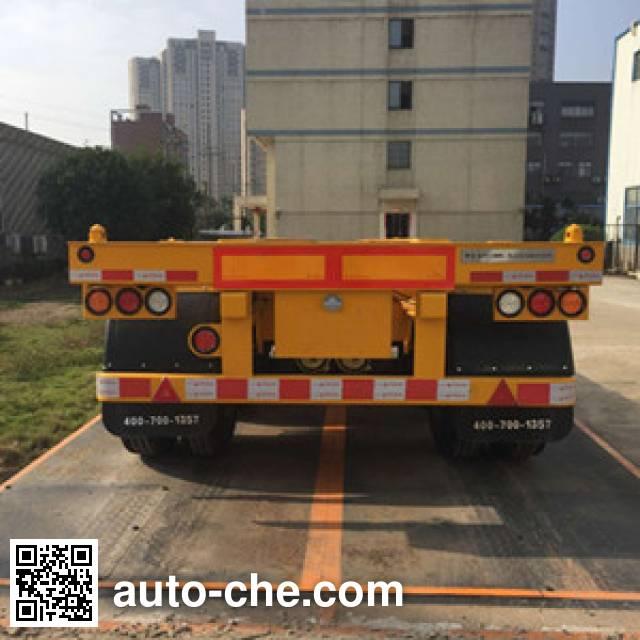 CIMC ZJV9352TJZSZ container transport trailer