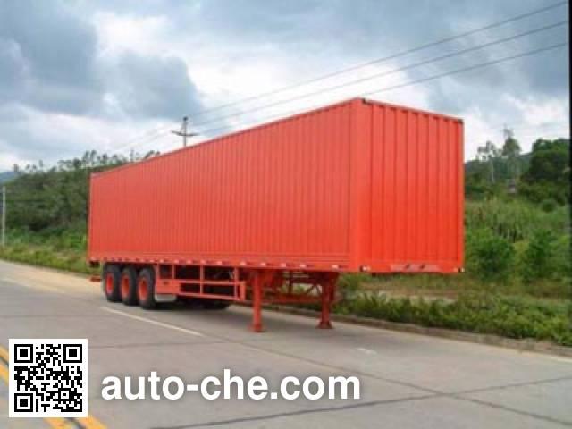 CIMC ZJV9383XXY box body van trailer