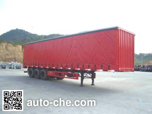 CIMC ZJV9384XXY curtainsider trailer