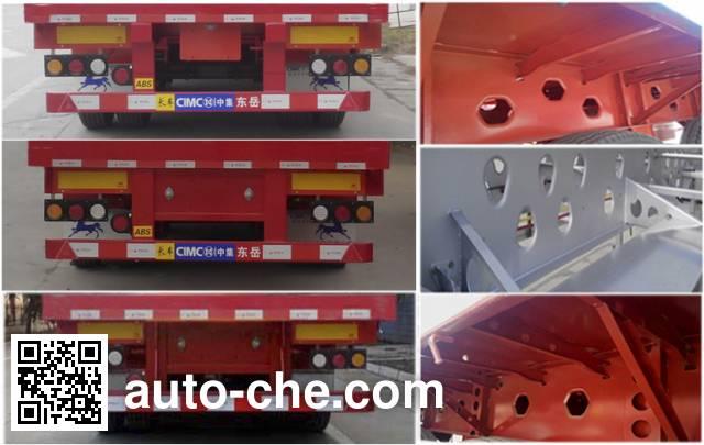 CIMC ZJV9400CCQDY livestock transport trailer