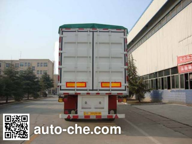 CIMC ZJV9400CPYDY soft top box van trailer