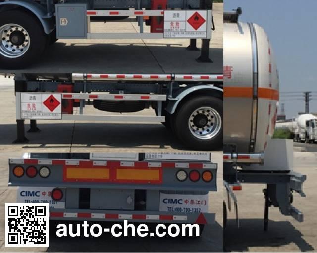 CIMC ZJV9400GLYJM liquid asphalt transport tank trailer