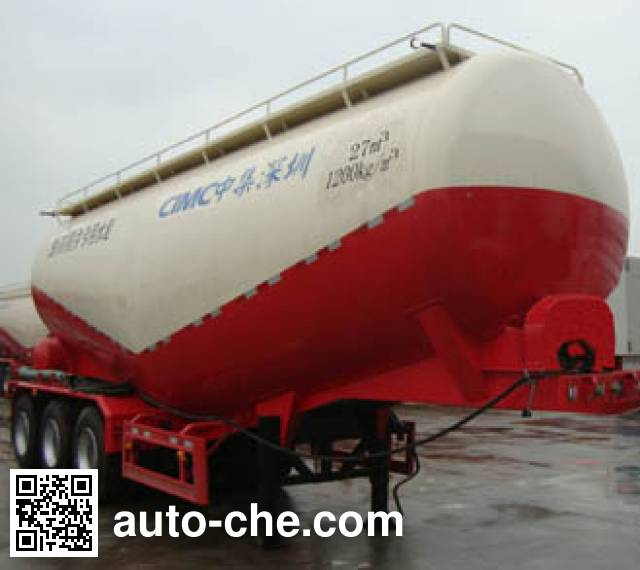 CIMC ZJV9400GXHSZ ash transport trailer
