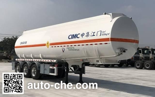 CIMC ZJV9400GYWJM oxidizing materials transport tank trailer