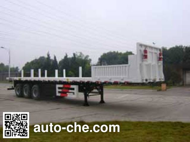 CIMC ZJV9400TGCTH pipe transport trailer
