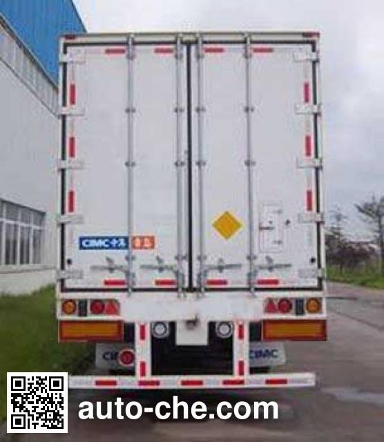 CIMC ZJV9400XLCQL refrigerated trailer