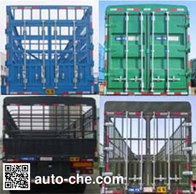 CIMC ZJV9401CCYYK51 stake trailer