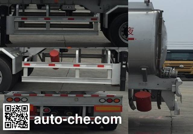 CIMC ZJV9401GGYJM liquid supply tank trailer