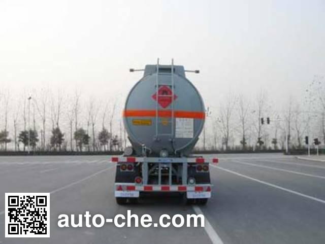 CIMC ZJV9401GHY chemical liquid tank trailer