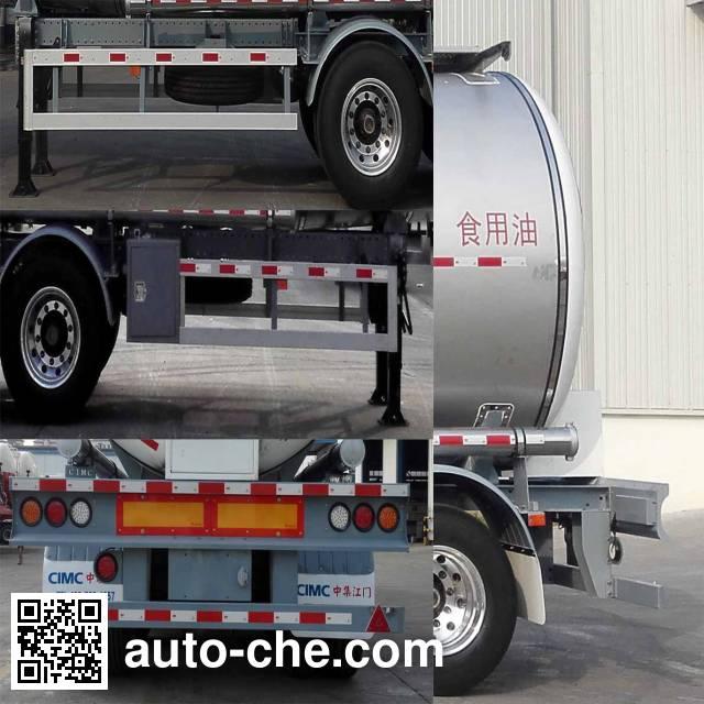 CIMC ZJV9401GYSJM liquid food transport tank trailer