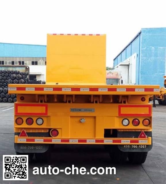 CIMC ZJV9401ZZXPSZ flatbed dump trailer