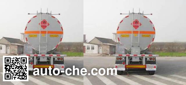 CIMC ZJV9400GHY chemical liquid tank trailer