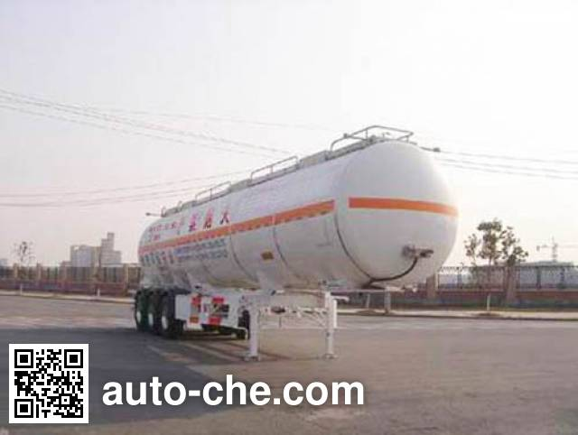 CIMC ZJV9403GHYTHA chemical liquid tank trailer