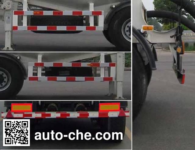 CIMC ZJV9404GFLLY medium density bulk powder transport trailer