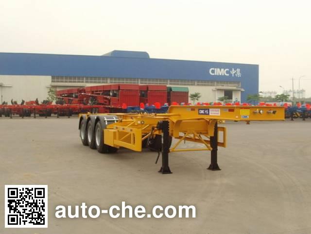 CIMC ZJV9405TJZQD container carrier vehicle