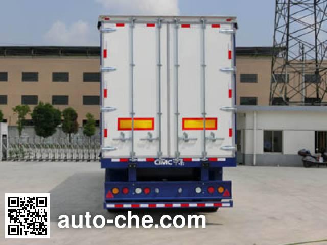 CIMC ZJV9405XXYSZ box body van trailer