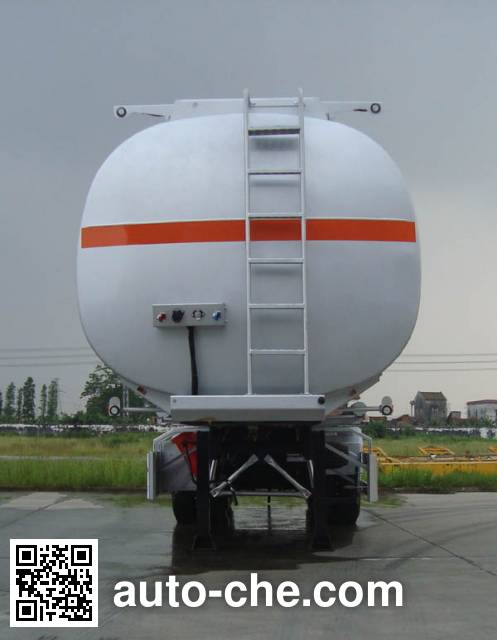 CIMC ZJV9406GRYSZ flammable liquid tank trailer