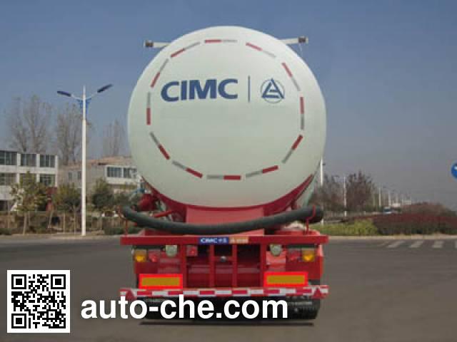 CIMC ZJV9407GFLLY1 low-density bulk powder transport trailer