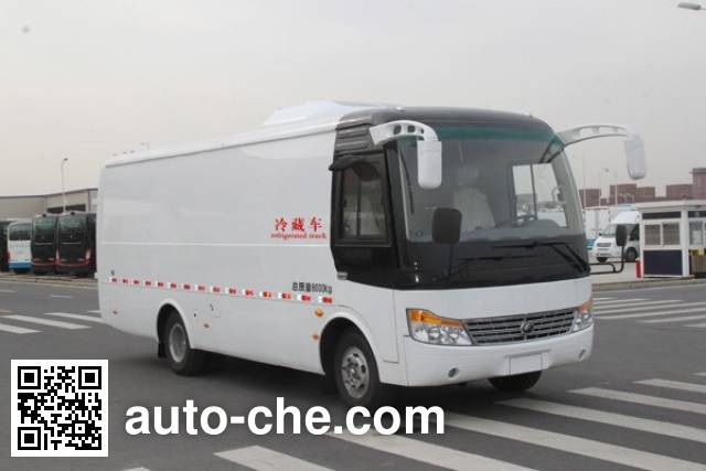 Yutong ZK5082XLC refrigerated truck