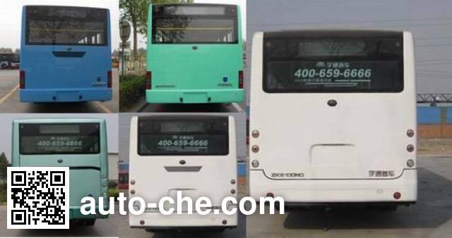 宇通牌(yutong)zk6100ng5型城市客车,第281批