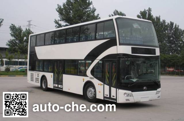 Yutong ZK6116HGS2 double decker city bus
