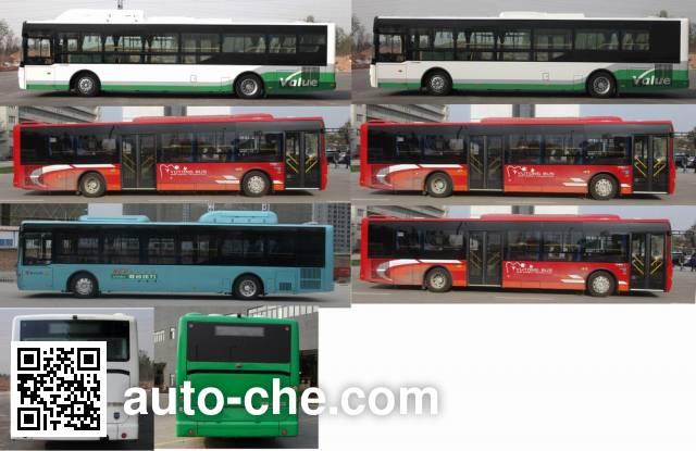 宇通牌ZK6120CHEVPG21混合动力城市客车