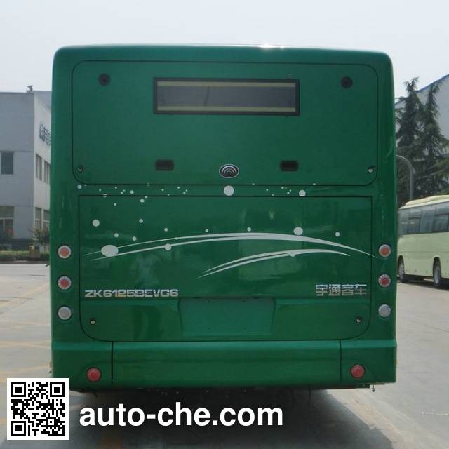 宇通牌ZK6125BEVG6纯电动城市客车