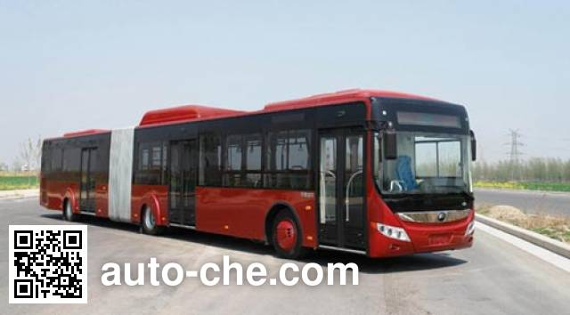 Yutong ZK6180CHEVNPG3 hybrid articulated city bus