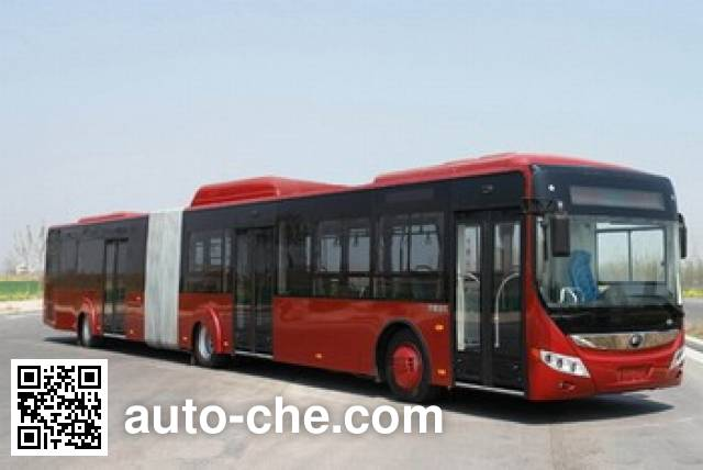 Yutong ZK6180CHEVNPG4 hybrid articulated city bus