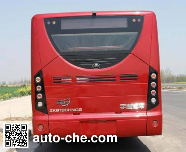 宇通牌ZK6180HNG2铰接城市客车