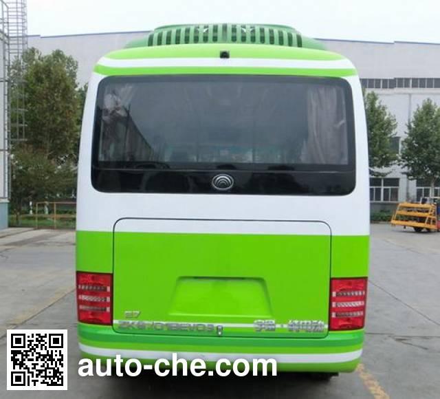 宇通牌(yutong)zk6701bevq3型纯电动客车,第274批
