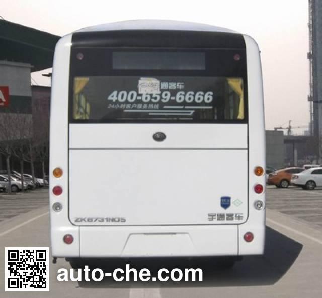 宇通牌ZK6731NG5城市客车