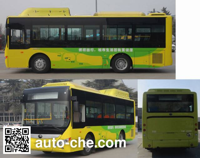 Yutong ZK6850CHEVPG23 hybrid city bus