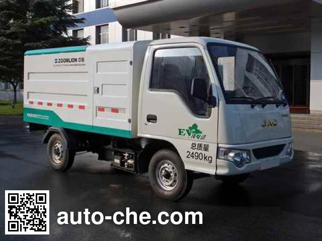 Zoomlion ZLJ5020XTYHFBEV electric sealed garbage container truck