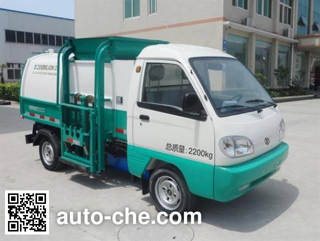 Zoomlion ZLJ5021ZZZBEV electric self-loading garbage truck