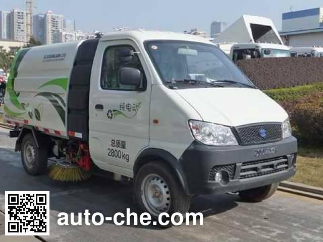 Zoomlion ZLJ5031TSLZLBEV electric street sweeper truck