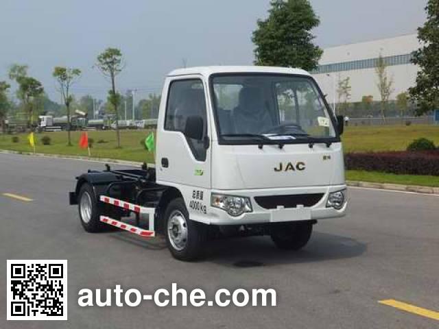 Zoomlion ZLJ5040ZXXHFE5 detachable body garbage truck