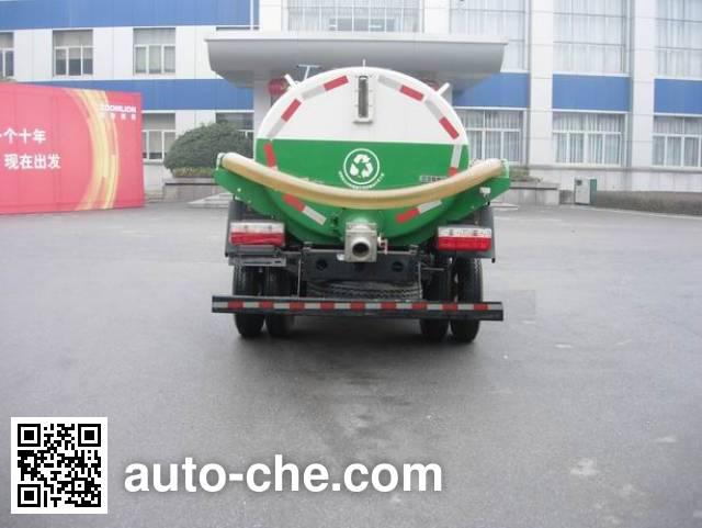 Zoomlion ZLJ5050GZXE3 biogas digester sewage suction truck