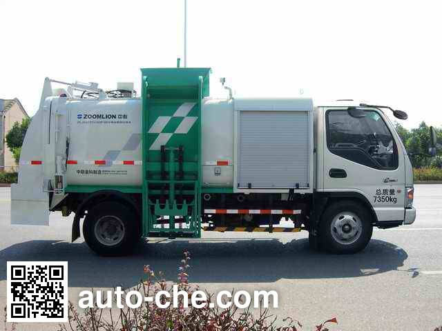 Zoomlion ZLJ5070TCAHFBEV electric food waste truck