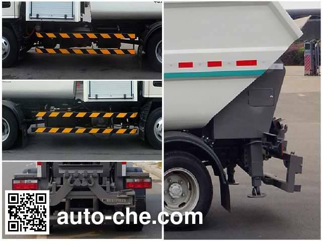 Zoomlion ZLJ5070ZZZHBEV electric self-loading garbage truck
