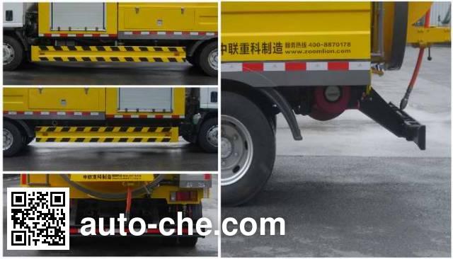 Zoomlion ZLJ5101GQXE4 sewer flusher truck